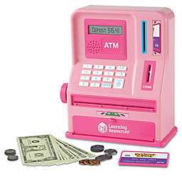 Learning Resources® Pretend & Play ATM Bank in Pink