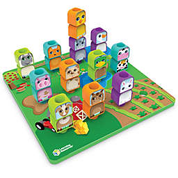 Learning Resources® Peg Friends Stacking Farm