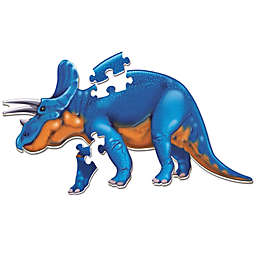 Learning Resources® Jumbo Triceratops Puzzle in Blue