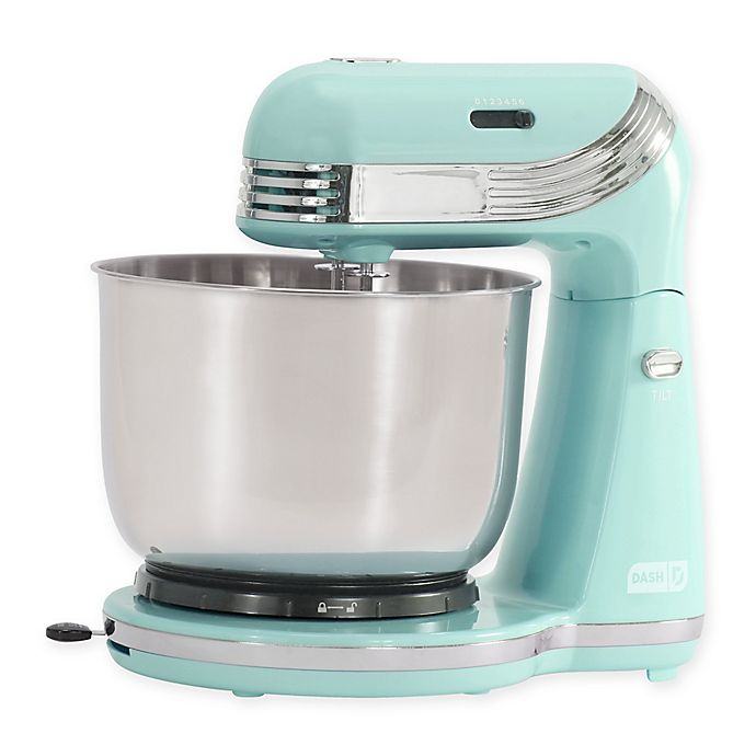 Alternate image 1 for Dash® Everyday 3 qt. Stand Mixer in Aqua
