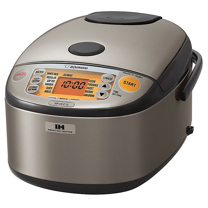 Alternate image 1 for Zojirushi 5.5-Cup Induction Heating System Rice Cooker & Warmer