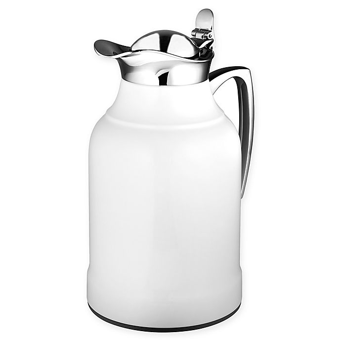 Alternate image 1 for Alfi™ Opal 1-Liter Vacuum Insulated Carafe in White