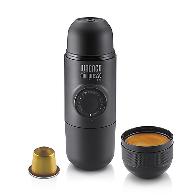 Alternate image 1 for Wacaco Portable Mini Espresso Maker in Black