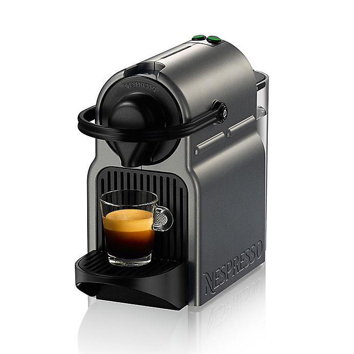 Alternate image 1 for Nespresso® by Breville Inissia Espresso Maker in Titanium