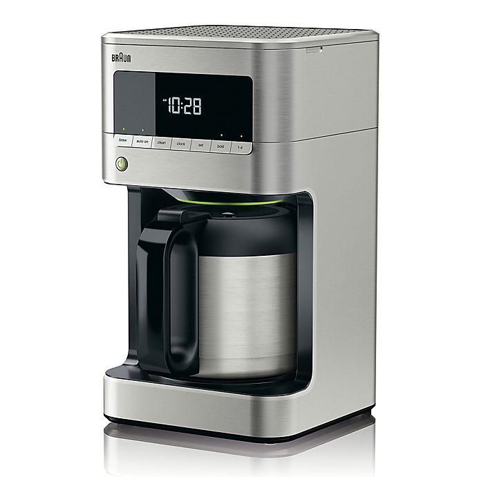 Alternate image 1 for Braun BrewSense Drip Coffee Maker in Stainless Steel