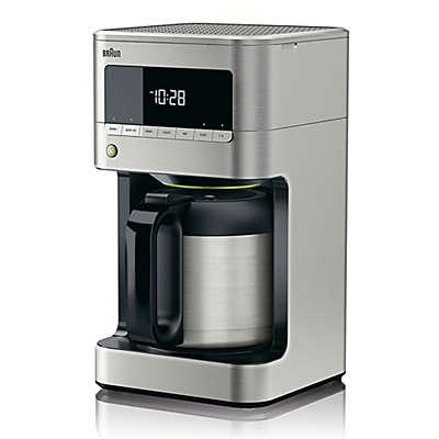 Braun BrewSense Drip Coffee Maker in Stainless Steel