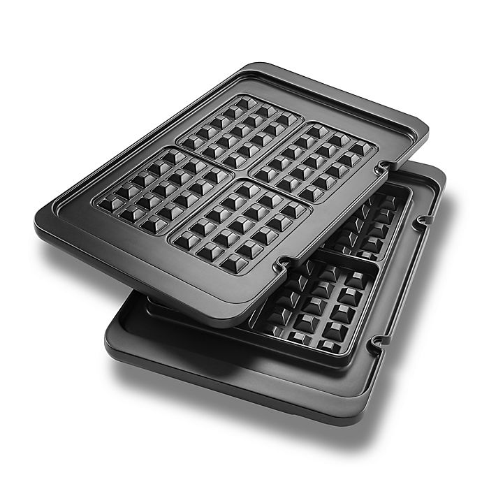 Alternate image 1 for De'Longhi Livenza All-Day Grill Waffle Plates (Set of 2)