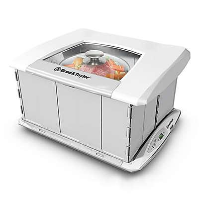 Brod & Taylor® Folding Proofer & Slow Cooker in White