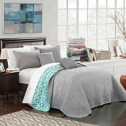 Chic Home Nalla Reversible Quilt Set
