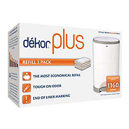 Dékor® Plus Hands-Free Diaper Pail Refills (2-Pack)