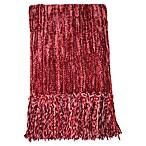 Streamers 50-Inch x 60-Inch Throw Blanket in Burgundy