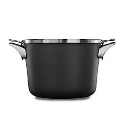 Calphalon® Premier™ Space Saving Hard Anodized Nonstick 8 qt. Covered Stock Pot