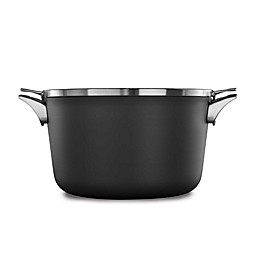 Calphalon® Premier™ Space Saving Hard Anodized Nonstick 12 qt. Covered Stock Pot