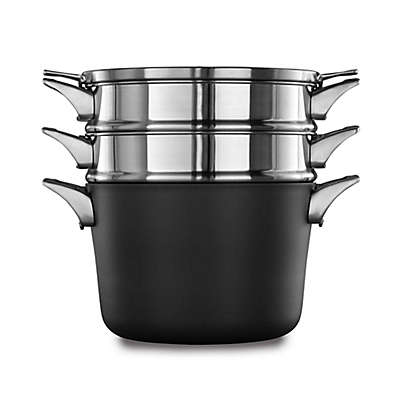 Calphalon® Premier™ Space Saving Hard Anodized Nonstick 8 qt. Covered Multi-Pot