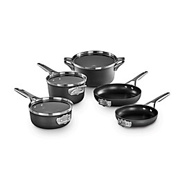 Calphalon® Premier™ Space Saving Hard Anodized Nonstick 8-Piece Cookware Set