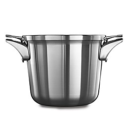 Calphalon® Premier™ Space Saving Stainless Steel 4.5 qt. Soup Pot with Lid