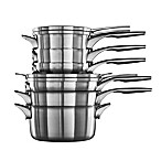 Calphalon® Premier™ Space Saving Stainless Steel 10-Piece Cookware Set