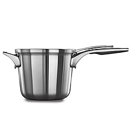 Calphalon® Premier™ Space Saving Stainless Steel Saucepan with Lid