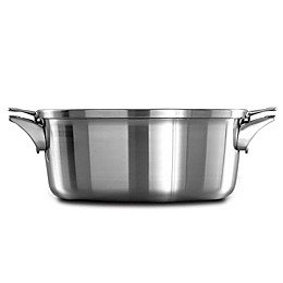 Calphalon® Premier™ Space Saving Stainless Steel Dutch Oven with Lid