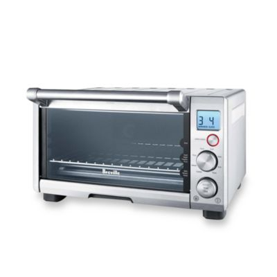 Breville the Compact Smart Oven Toaster Oven, Silver