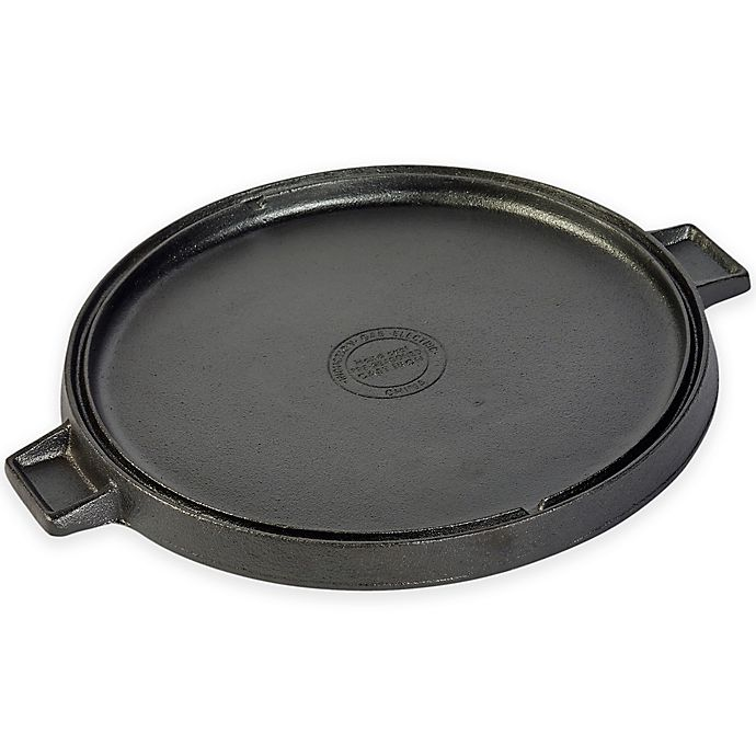 Two-sided Grill Plate 2 in 1 Grill Griddle GRILL /& MORE Essentials Cast Iron