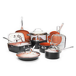Gotham™ Steel Ti-Cerama™ Nonstick 15-Piece Cookware Set