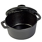Basic Essentials® Cast Iron 2.75 qt. Round Covered Dutch Oven