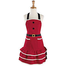 Design Imports Santa Ruffle Apron