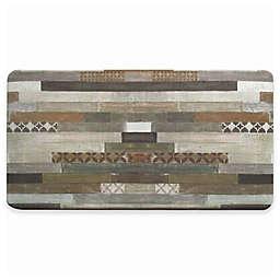 David Burke Bloomfield Painted Stripe Memory Foam 20-Inch x 39-Inch Kitchen Mat
