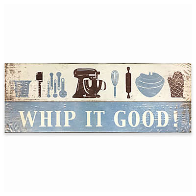 "David Burke Cook N Comfort ""Whip It Good!"" Memory Foam 19.6-Inch x 55-Inch Kitchen Mat"