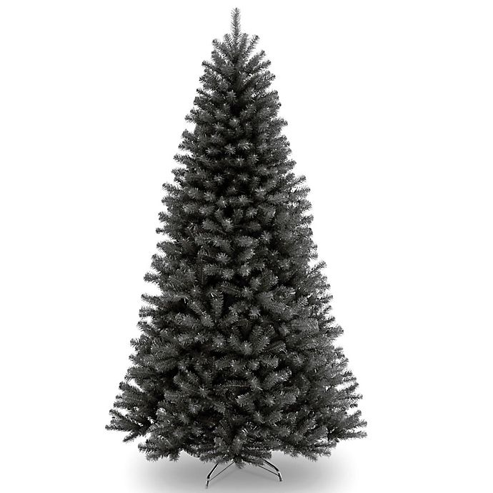 Alternate image 1 for National Tree Company 7-1/2-Foot North Valley Black Spruce Artificial Christmas Tree