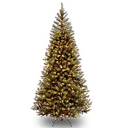 National Tree Company Pre-Lit Clear Aspen Spruce Artificial Christmas Tree