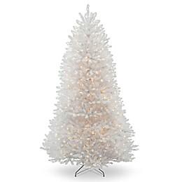 National Tree Company Dunhill White Fir Pre-Lit Christmas Tree