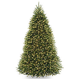 National Tree Company Pre-Lit PowerConnect Dunhill Fir Artificial Christmas Tree