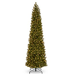 National Tree Company® Downswept Douglas Pencil Slim Christmas Tree with Clear Lights
