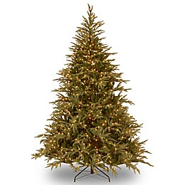 National Tree Company Pre-Lit Feel Real Frasier Grande Fir Artificial Christmas Tree