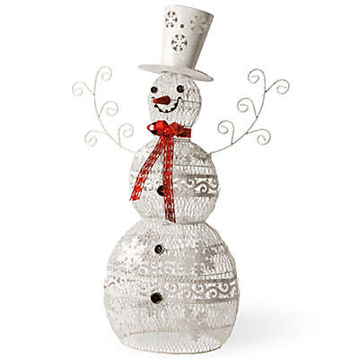 National Tree Company Metal Snowman Christmas Decoration