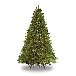 Puleo International Fraser Fir Pre-Lit Artificial Christmas Tree with Clear Lights