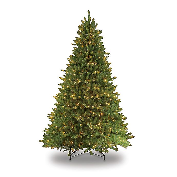 Alternate image 1 for Puleo International Fraser Fir Pre-Lit Artificial Christmas Tree with Clear Lights