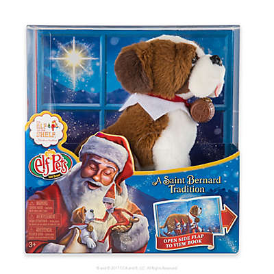 "The Elf on the Shelf® Elf Pets®: ""A Saint Bernard Tradition"" Book and Plush Toy Set"