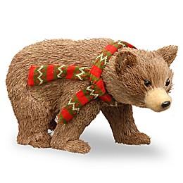 National Tree Company 9-Inch Bear Cub Holiday Decoration