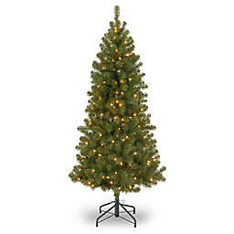 National Tree Company 7-Foot Pre-Lit Canadian Grande Fir Artificial Christmas Tree
