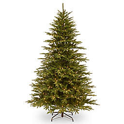National Tree Company 7-1/2-Foot Pre-Lit Monterey Fir Artificial Christmas Tree