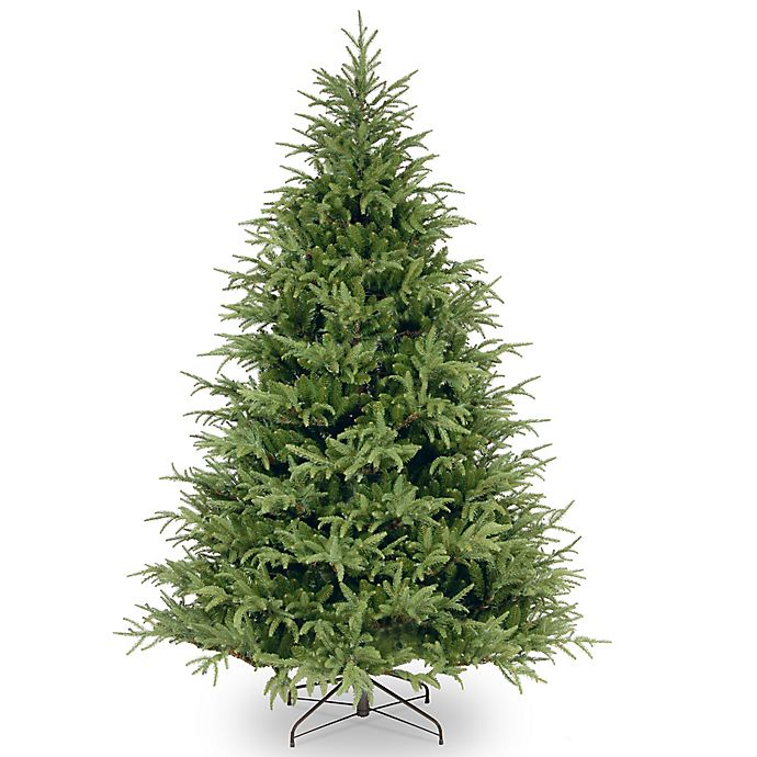 Alternate image 1 for National Tree Company 7-1/2-Foot Feel Real Frasier Grande Fir Artificial Christmas Tree