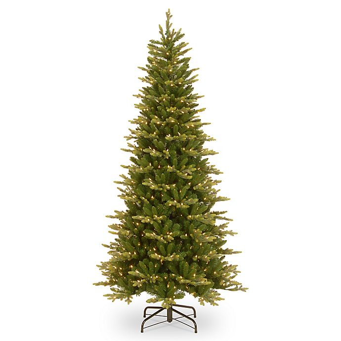 Christmas Trees Garden Ridge: National Tree Company 7-1/2-Foot Pre-Lit PowerConnect Glen