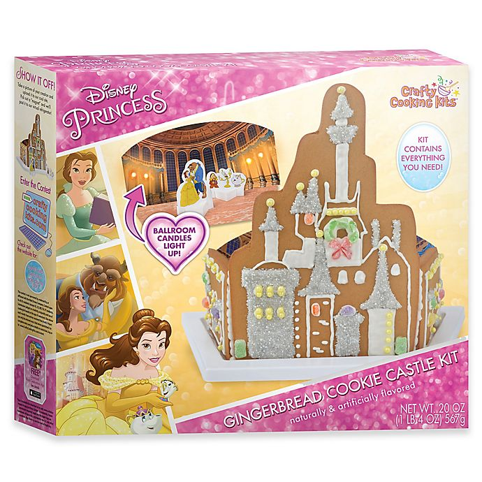 Alternate image 1 for Disney® Beauty and the Beast Gingerbread Cookie Castle Set
