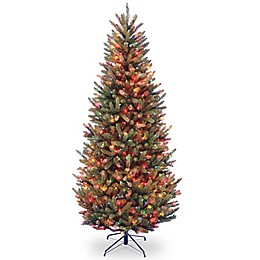 National Tree Company Pre-Lit Multicolor Natural Fraser Fir Artificial Christmas Tree