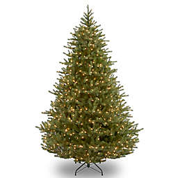 national tree company noble fir pre lit christmas tree with clear lights