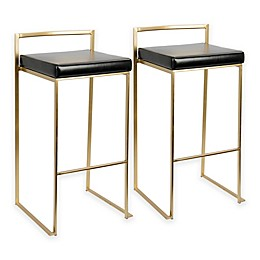 LumiSource Fuji Bar Stools (Set of 2)