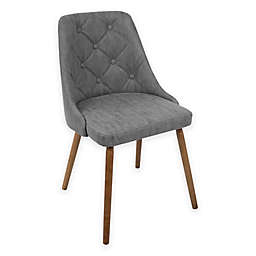LumiSource® Giovanni Dining Side Chair in Walnut/Grey